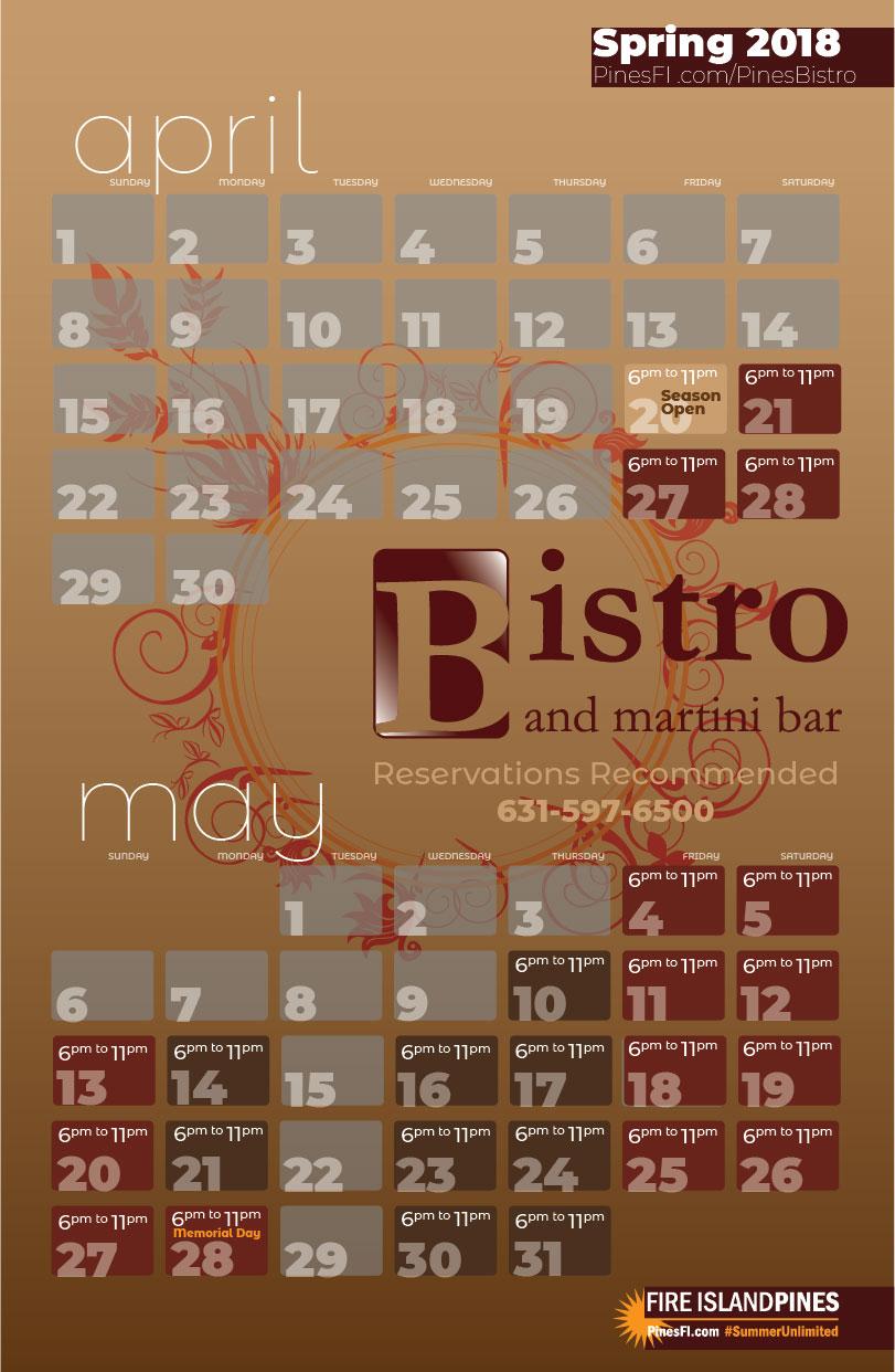 <b>The Bistro </b>| – 2018 Opening