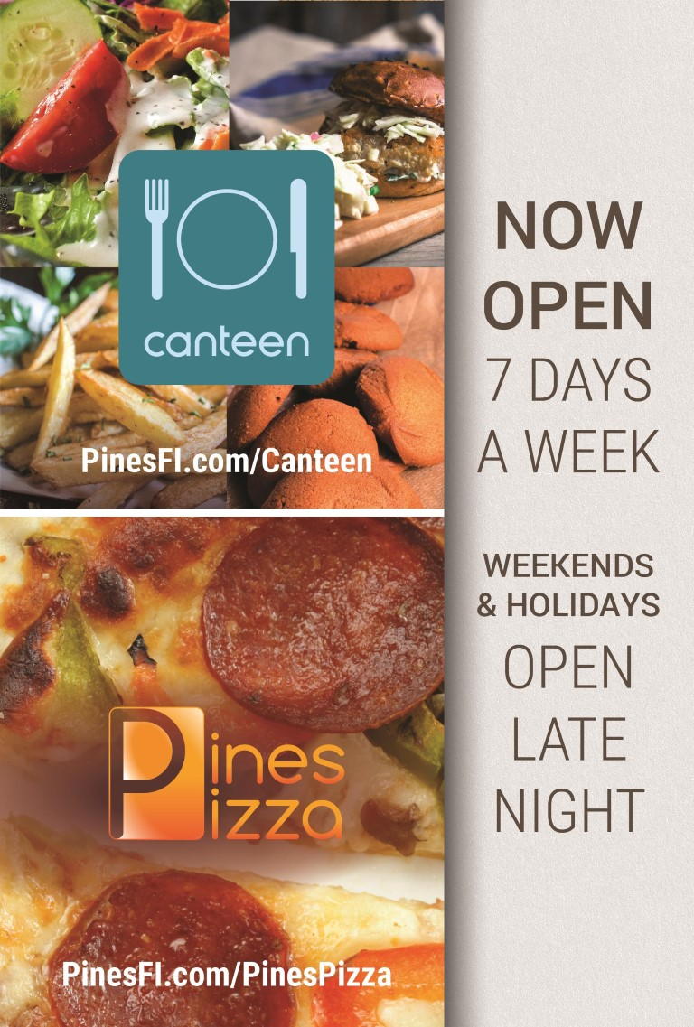 <b>Canteen</b> |Early+Late<br><b>Pizza</b> |<b>LateNite</b><br>Weekend+Holiday<br><b>7 Days/Week</b>