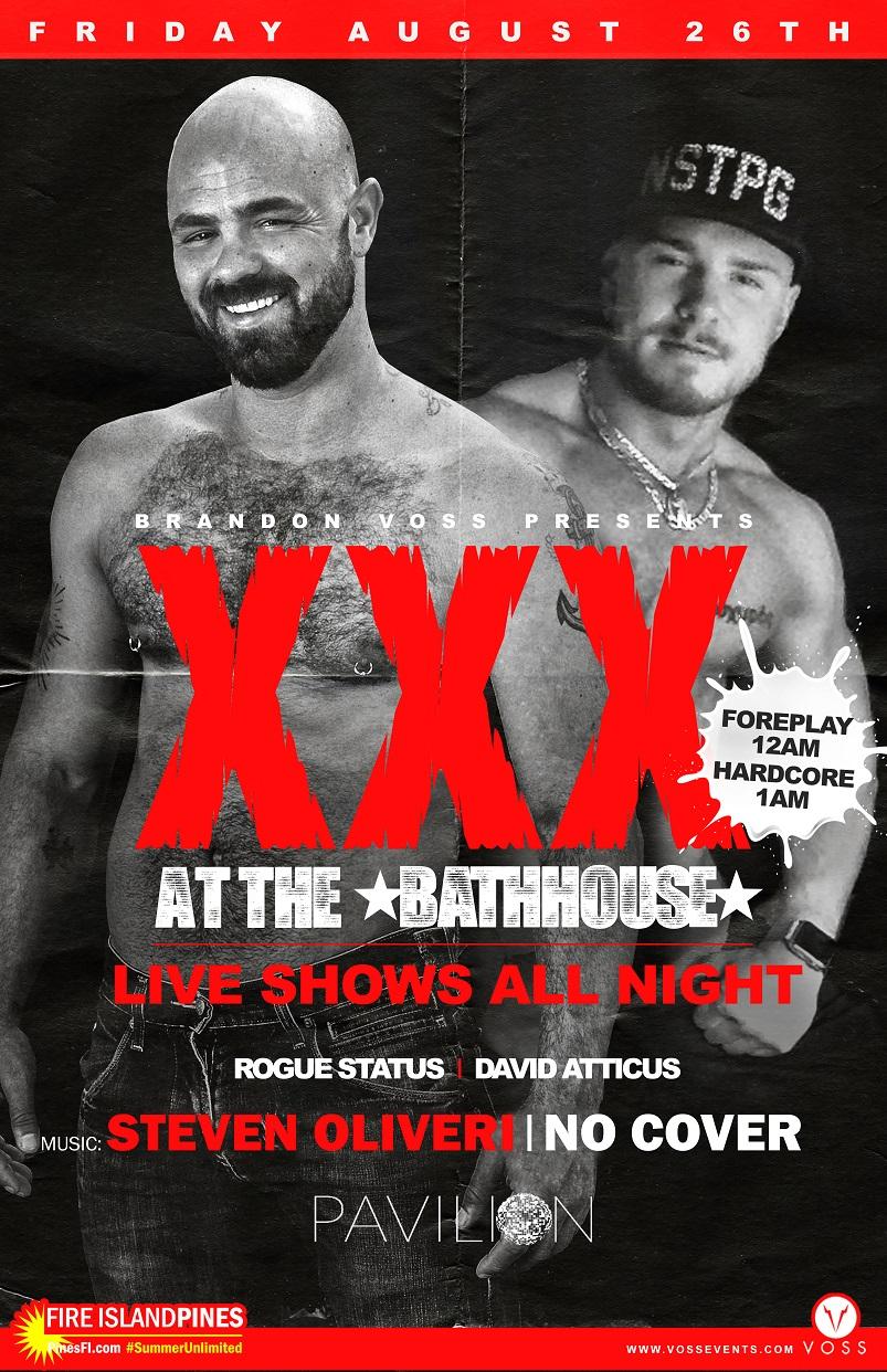 BATHHOUSE XXX Fridays: HOT Performers/Performances!