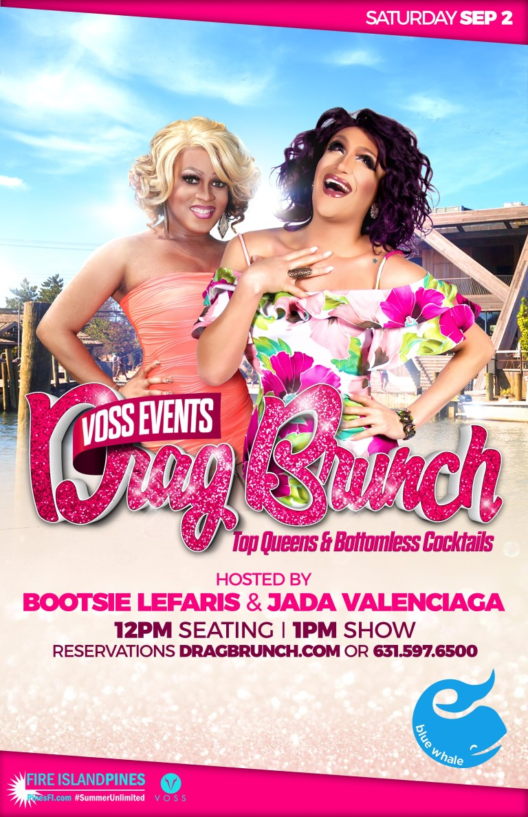 <b>DRAG Brunch</b> LABOR DAY Saturday!<br>CALL for <b>Best Table</b><br>RESERVATIONS