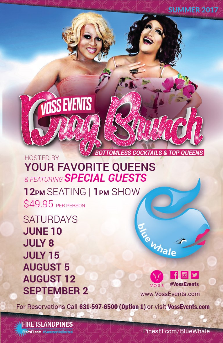 <b>DRAG Brunch</b> Saturday!<br>CALL for <b>Best Table</b><br>RESERVATIONS