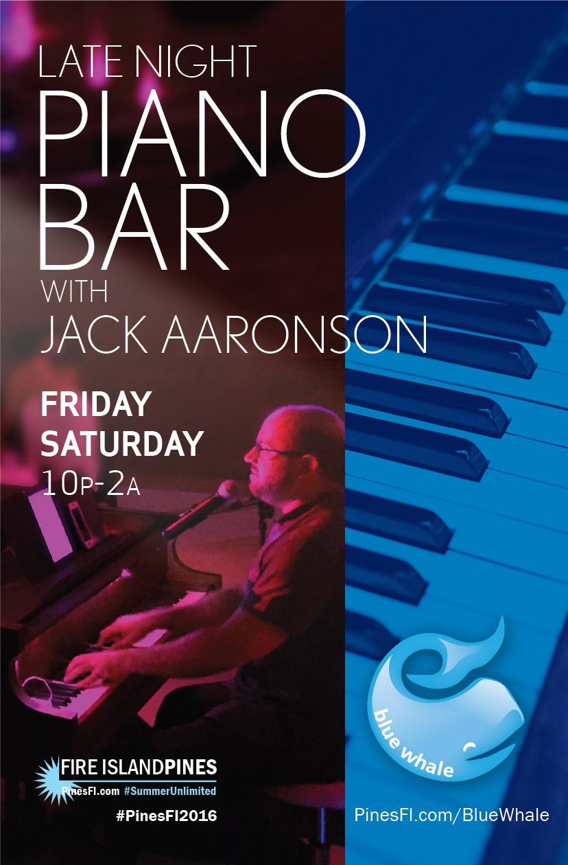 PIANO BAR – It's Jack! (+Surprise Guests) – Fri & Sat Nites