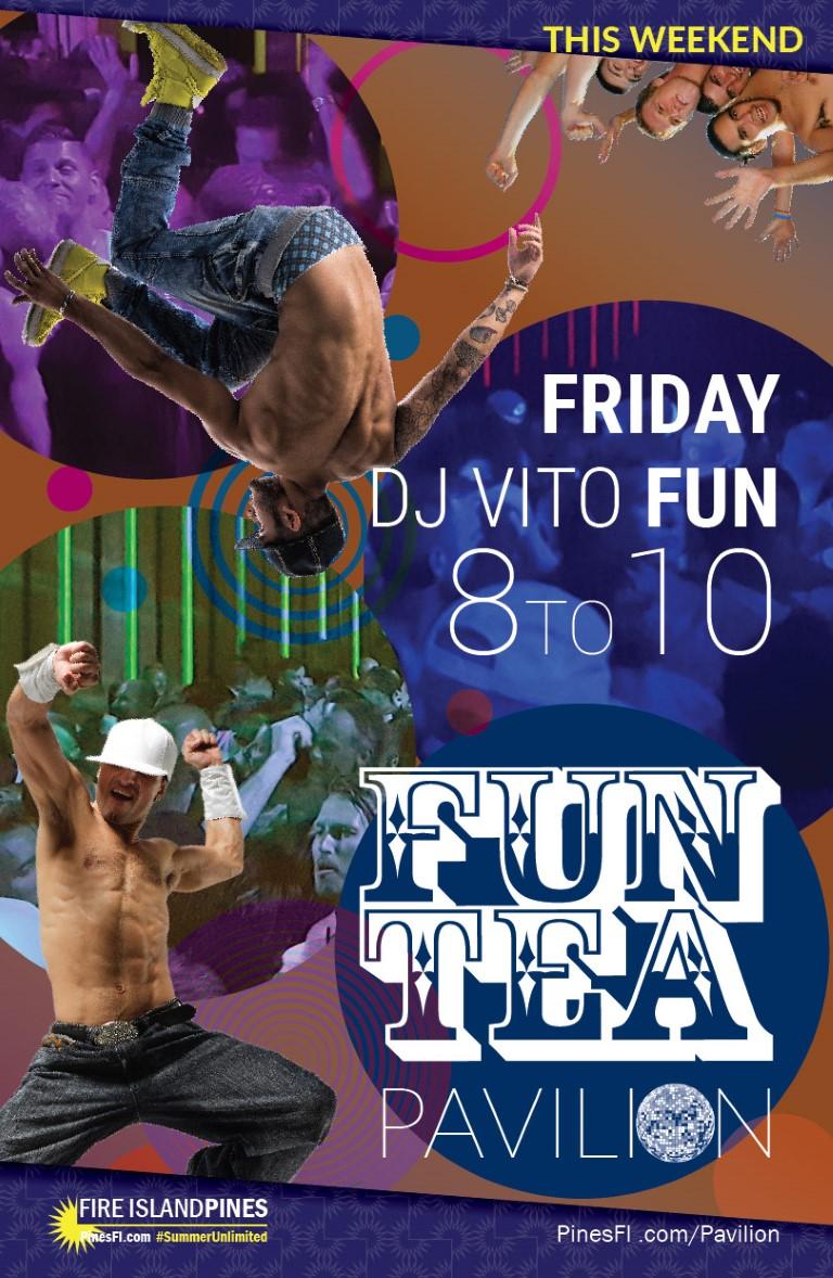 <b>FUN</b>–Pavilion Style–<b>TEA</b><br>Friday