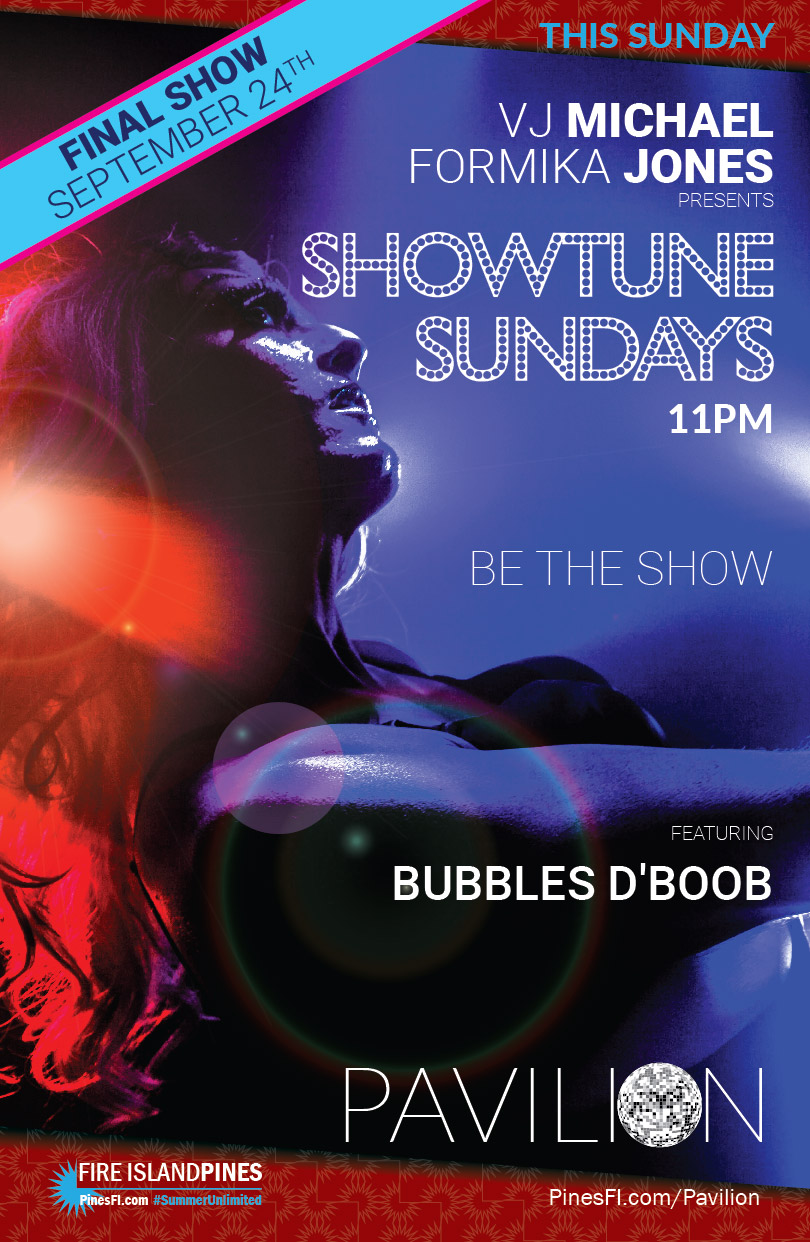 <b>SHOWTUNE (<i>Last Dance</i>)</b> Sunday<br>Keep Your <b>Weekend</b> Going!