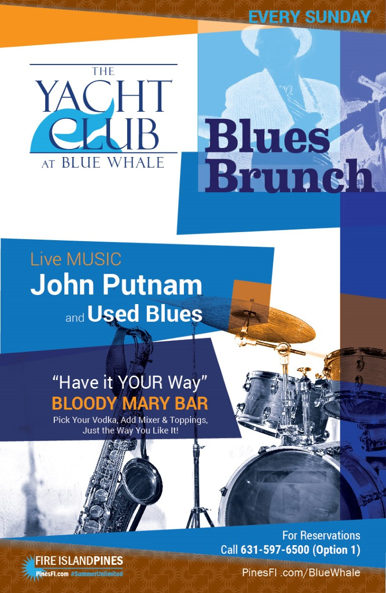 <b>BLUES BRUNCH</b>, SUNDAYs<br><b>Have It Your Way</b> Bloody Mary Bar