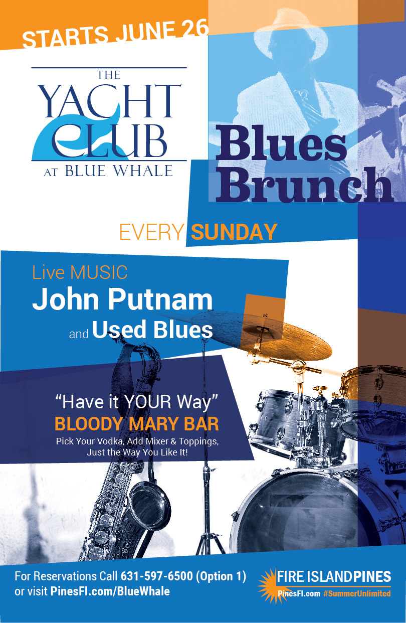 BLUES BRUNCH at the Blue Whale, SUNDAYs