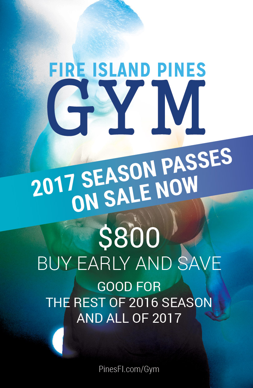 Pre-Season (2017)<b> SALE!</b>, incl. Remainder of 2016<br><b>Pines Gym</b>