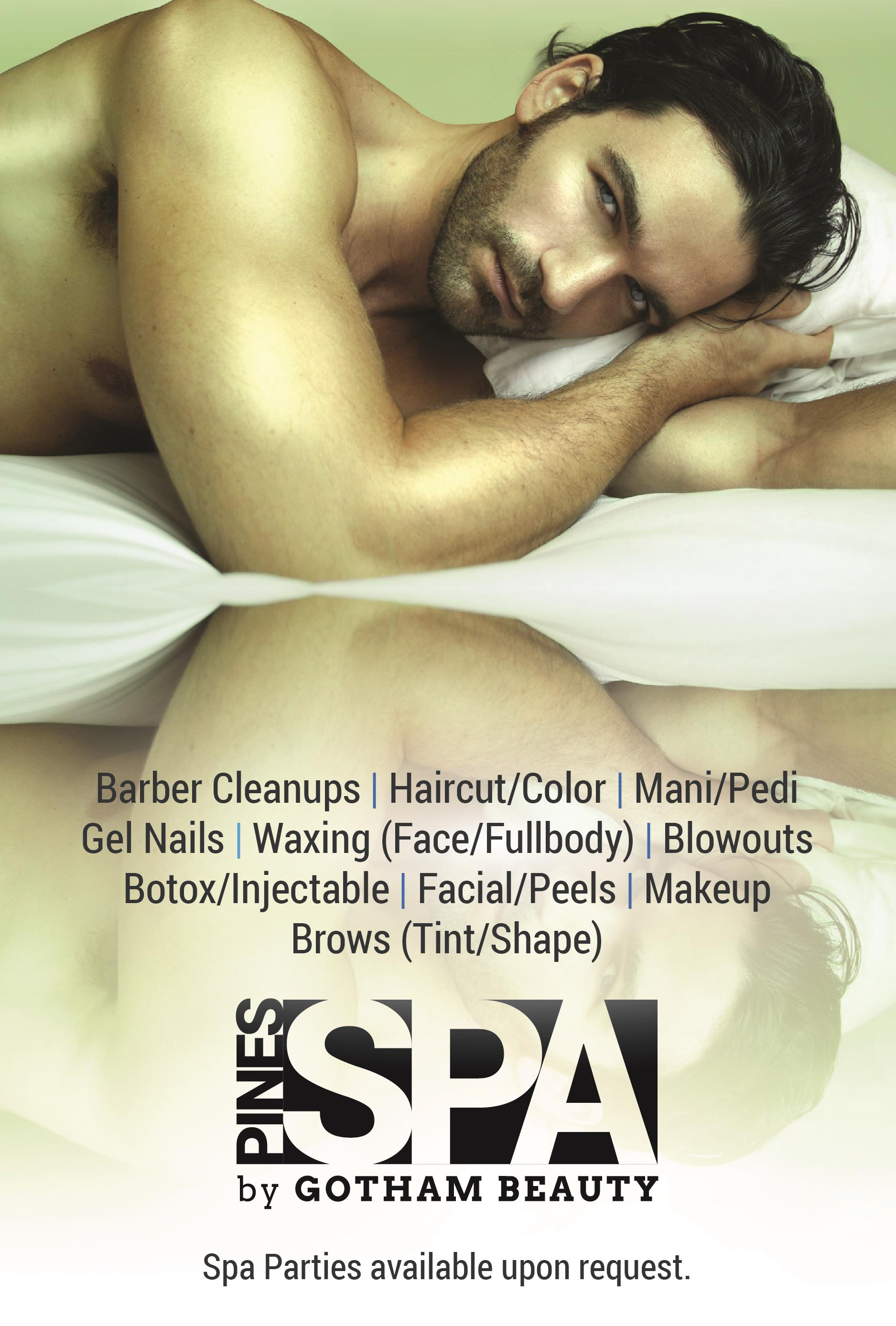 <b>SPA, Now Open</b><br>|NEW for '17<br>|by <b>Gotham Beauty</b>