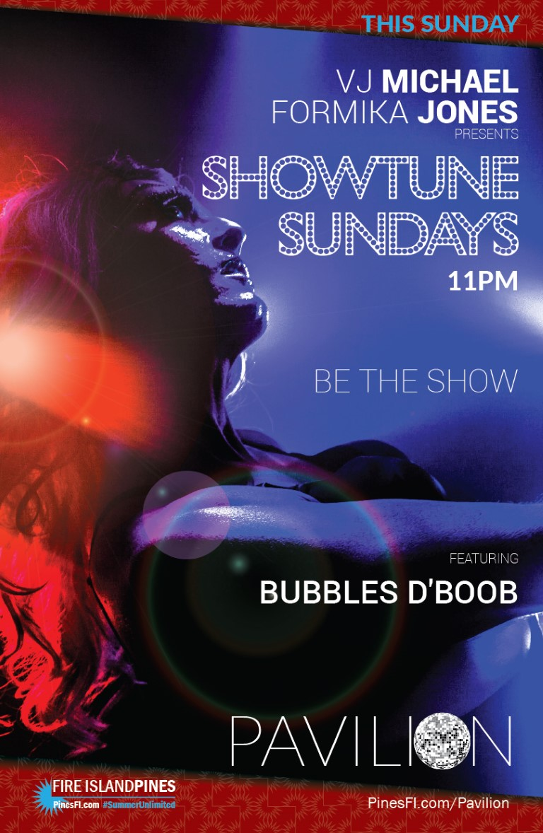 <b>SHOWTUNE</b> Sundays<br>Keep the <b>Weekend</b> Going!
